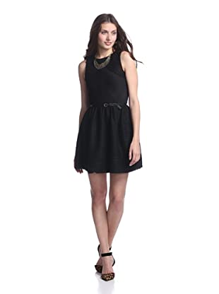 Junk Dresses Women's Fall Out Dress (Black)