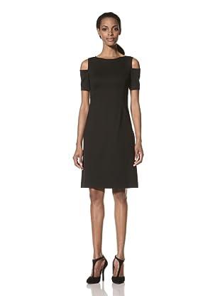 Nue by Shani Women's Cold Shoulder Dress (Black)
