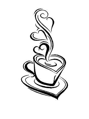 SuperStudio Wandtattoo Coffee