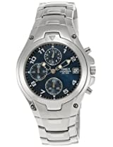 Timex E Class Chronograph Blue Dial Men's Watch - T27871