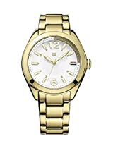 Tommy Hilfiger Analog White Dial Women's Watch - TH1781370J