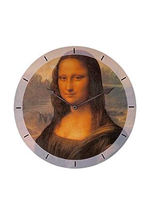 Artopweb Reloj De Pared Da Vinci Mona Lisa