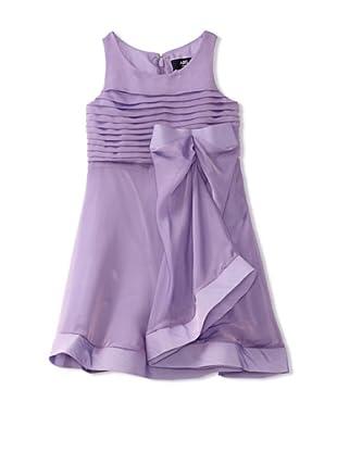 ABS Kids Girl's Organza Bow Dress (Lilac)