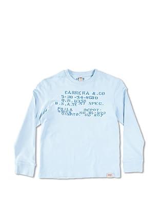 Carrera Jeans Camiseta Bambino M/L Girocollo (Azul Cielo)