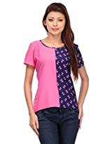 MOTIF Women's Top (A366XL_Multi-Coloured_X-Large)