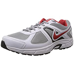 Nike Men's Transform IV Wolf Grey,Red Reef  Running Shoes -7 UK/India (41 EU)(8 US)