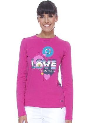 Rox Camiseta Savinata (fucsia)