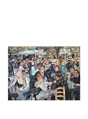 ArtopWeb Panel de Madera Renoir Au Mulin de la Galette 40x30 cm