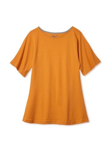 Soft Clothing Kid's Jessica Tunic (Indian Marigold)