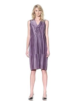 MARNI Women's Sleeveless Dress with Ruffle (Porpora)
