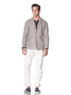 Cohesive & Co. Men's Corby Deconstructed Blazer (Grey)