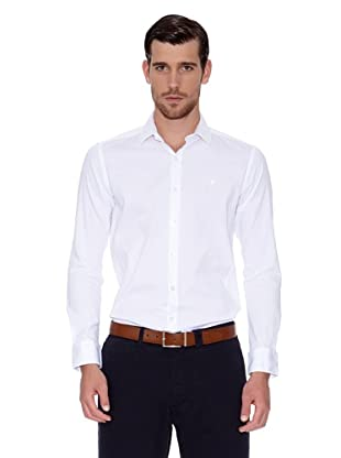 Caramelo Camisa Octave (Blanco)