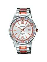 Casio Enticer Analog Silver Dial Women's Watch - LTP-1359RG-7AVDF (A899)