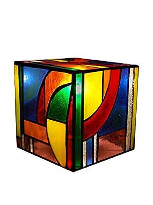 Arte Dal Mondo Nachtischlampe Cubo Kandinsky