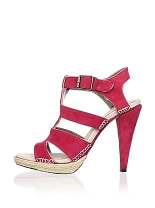 Charlotte Ronson Women's Geraldine Sandal (Red)