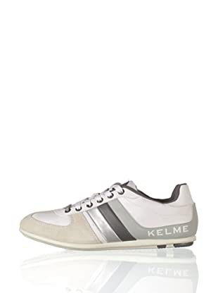 Kelme Zapatillas Casual Mortiz (Blanco / Plata)