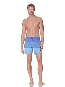 Rhythm Men's Tri Jam Swim Short (Blue)