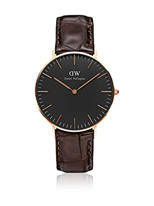 Daniel Wellington Reloj con movimiento cuarzo japonés Woman Classic York 36 mm
