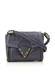 Pour La Victoire Women's Jaclyn Mini Cross-Body (Blue)
