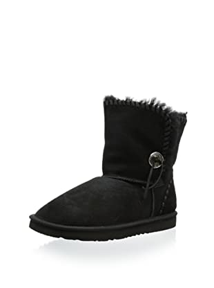 Koolaburra Women's Trishka Short 6 1/2 Inch Boot (Black)