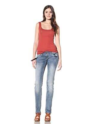 M.O.D Miracle of Denim Women's Klara Slim Fit Straight Leg Jean (Cashmere Blue)