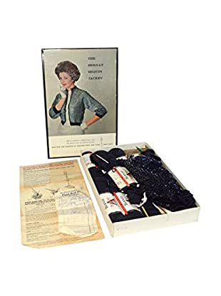 Uptown Down Previously Owned Bernat Sequin Jacket Knitting Set