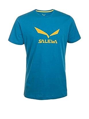 Salewa T-Shirt Solidlogo Co M S/S