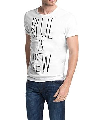 EDC by Esprit Camiseta Manga Corta blue is new