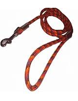 Uniquedeals Dog Rope Leash, Red - Medium