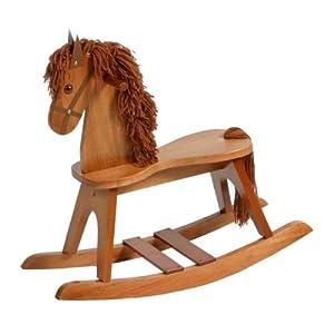 Stork Craft Rocking Horse, Cognac (Discontinued by Manufacturer)