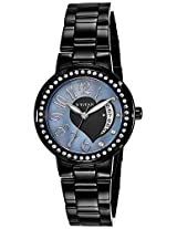 Titan Purple Analog Multi-color Dial Women's Watch - NC9855NM01J