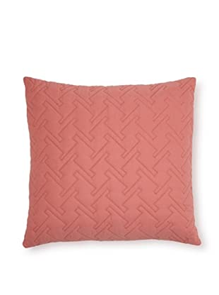Blissliving Home Tate Square Decorative Pillow (Rose)