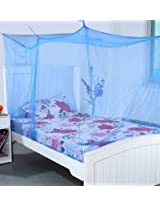Deluxe Double Bed Mosquito Net (Multi Colour)