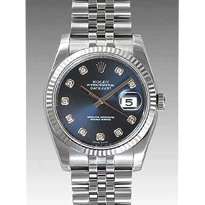 【クリックで詳細表示】ROLEX ロレックス オイスターパーペチュアルデイトジャスト 116234G [並行輸入品]: 腕時計通販
