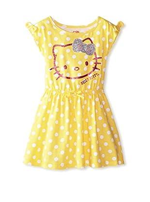 Hello Kitty Girl's Polka Dot Dress