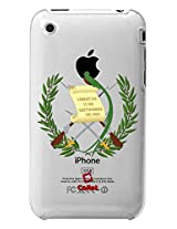 Cellet Proguard Case for iPhone 3/3GS - Non-Retail Packaging - Guatemala Flag Design (02)
