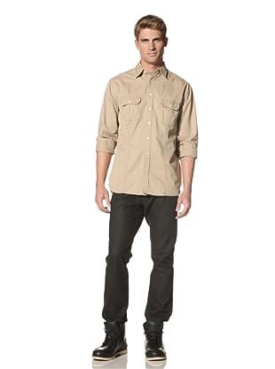 Road Men's Garrett Shirt (Khaki)