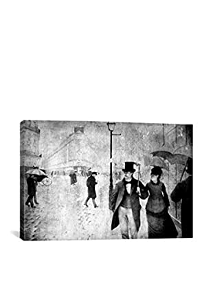 Paris Street II Gallery Wrapped Canvas Print