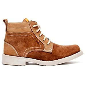 Bacca Bucci Green Hill High Ankle Length Boots - Tan