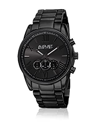 August Steiner Reloj con movimiento Miyota Man AS8163BK Negro