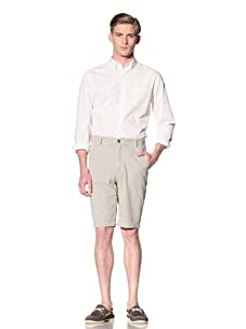 Report Collection Men's Gingham Short (Tan)