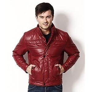 Canary London Maroon Plain Men Jacket CLJK 0715