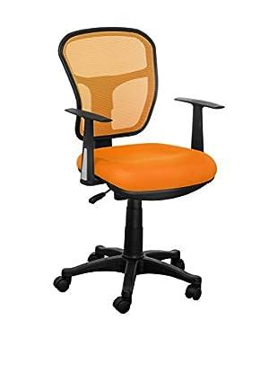 Home Office Silla De Oficina Naranja