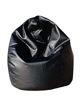 Modern Loft Sitzsack Dea schwarz