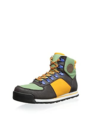 Generic Surplus Men's Harrington Hiker Boot (Green/Orange/Earth)