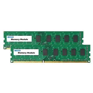 【クリックで詳細表示】I-O DATA デスクトップPC用 PC3-12800(DDR3-1600)対応メモリー 4GB 2枚組(白箱) DY1600-4GX2/EC: パソコン・周辺機器
