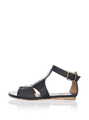 Fiel Women's Syke Mayan Woven Sandal (Black)