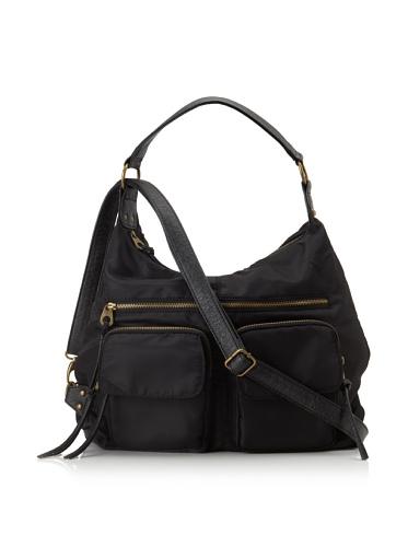 co-lab by Christopher Kon Women's 4-Way Brooklyn Nylon Bag (Black)