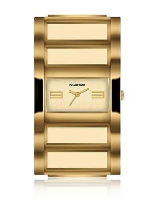 K&Bros  Reloj 9163 (Dorado)