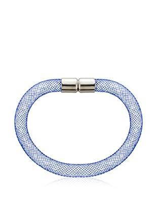 Diamond Style Armband Mesh hellblau